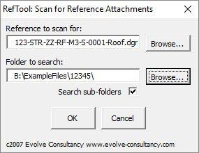 Evolve Ref tool
