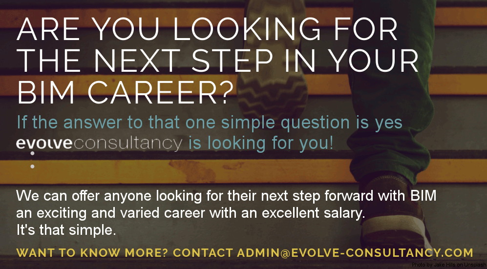 ARE YOU LOOKING FOR THE NEXT STEP IN YOUR BIM CAREER? WE'RE HIRING!
