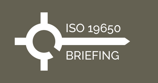 AVAILABLE NOW: ISO 19650 BRIEFING